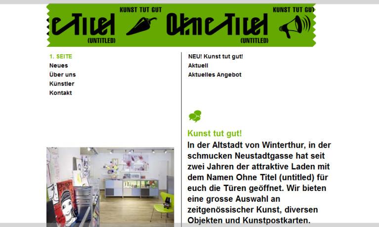 Ohne-Titel Kunstladen
